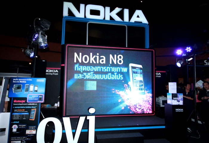 เช่าจอ LED-Nokia Mobile Expo 2011